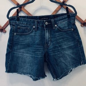 Lucky Brand The Boyfriend Cutoff Shorts